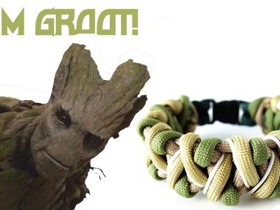 Solomon's Fire Groot Themed Paracord Bracelet Tutorial
