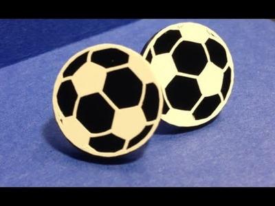 Sports Themed Acrylic Earrings Tutorial Start to Finish {Cricut Explore}