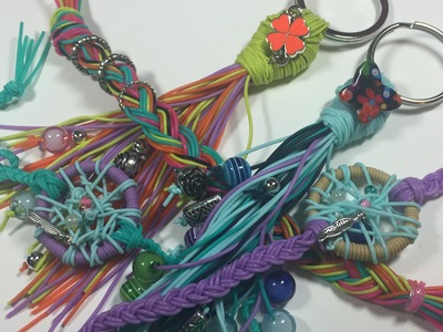 Strand Bands Metal Accents, Dreamcatcher, and Key Fob tutorial