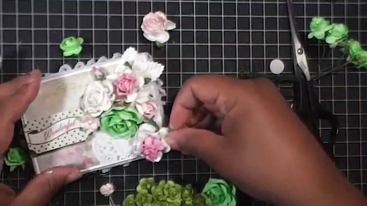 TUTORIAL: Shabby Box and Flower Cluster