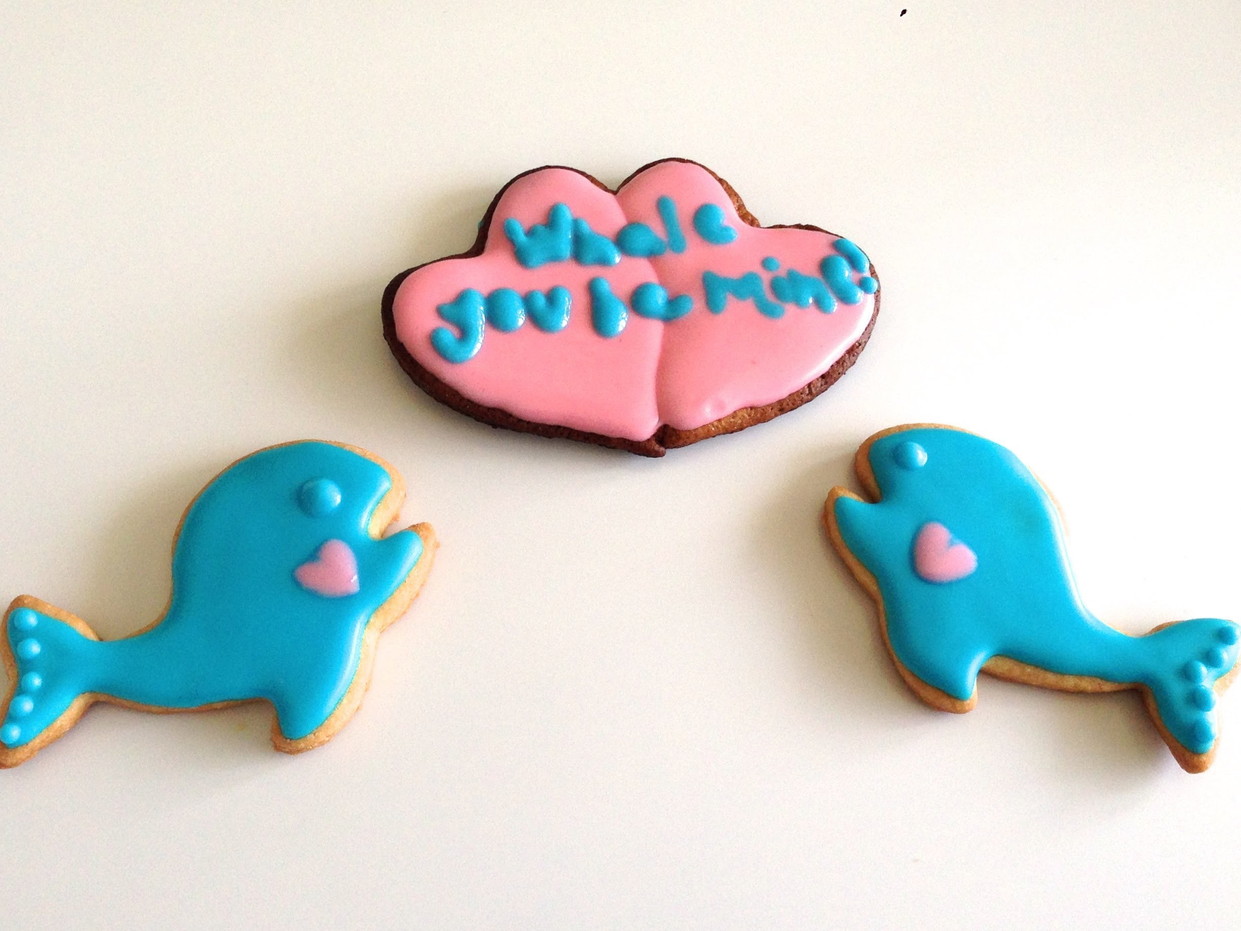 Whale You Be Mine? ♥ ♥ | A Valentine's Day Cookie Tutorial