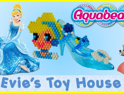 Aqua beads Cinderella similar to Beados Review and Tutorial | Evies Toy House