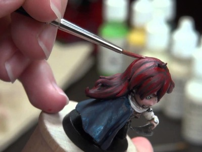 Arcadia Quest Chibi Painting Tutorial Part 2
