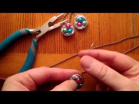 Bird Nest Jewelry Tutorial