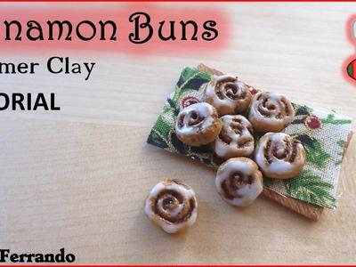 Christmas Advent Calendar: 5th Day - Cinnamon Rolls TUTORIAL