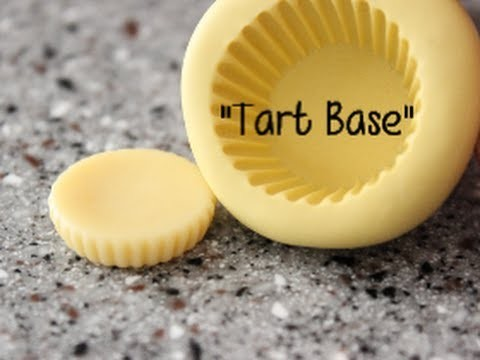 "Cold Porcelain Tutorial: ""Tart Base"""