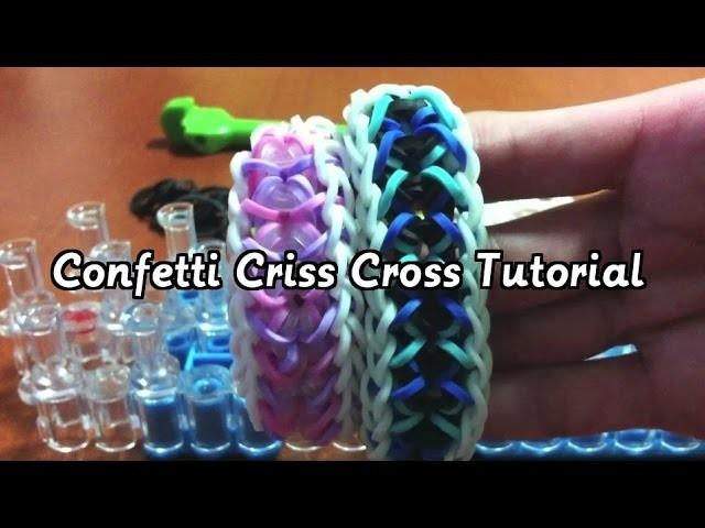Confetti Criss Cross Tutorial