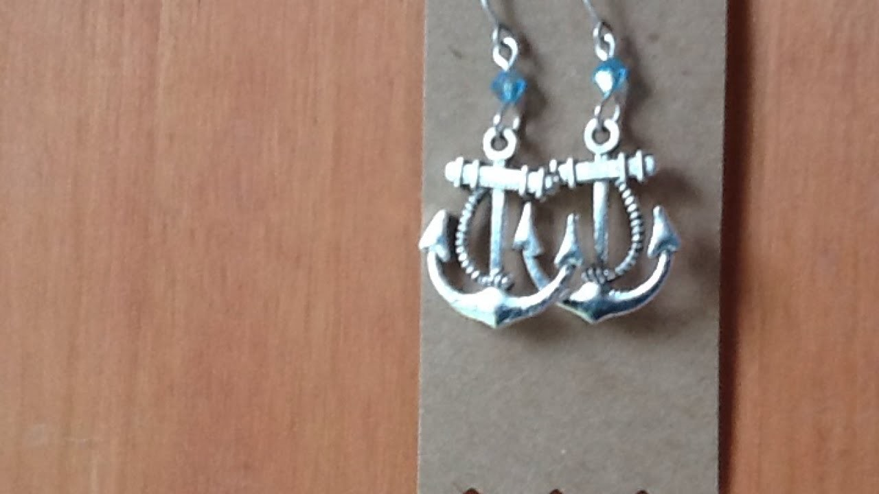 Create Trendy Nautical Anchor Earrings - DIY Style - Guidecentral
