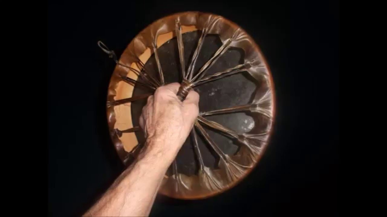 DIY Making Native American Hand Drum