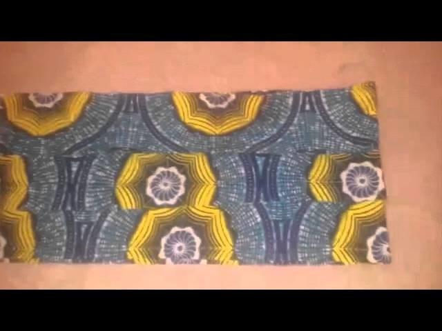 DIY tutorial : Peplum blouse 3 layers
