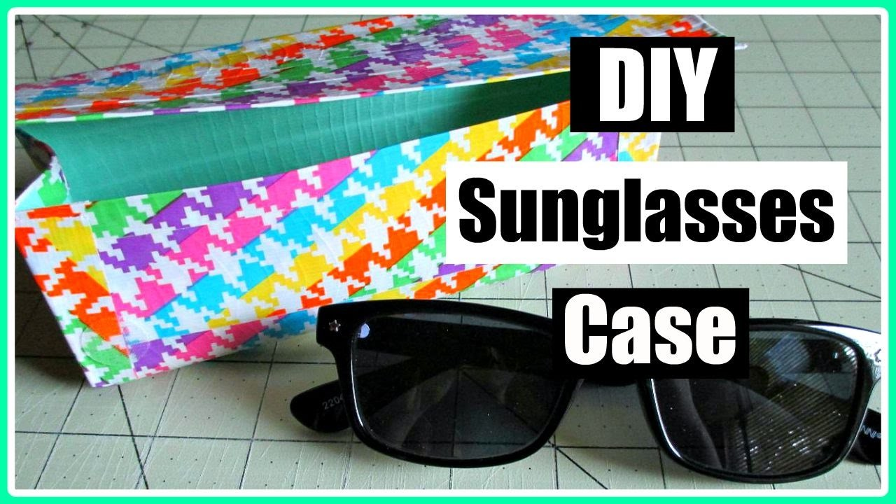 Duct Tape Sunglasses Case Tutorial (Collab with CraftieAngie)