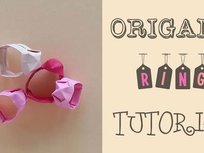 Easy Origami Ring Tutorial