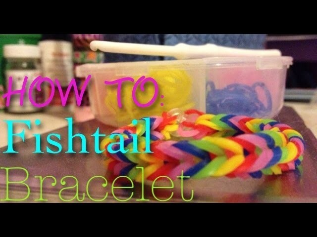 Fishtail Loom Bracelet Tutorial