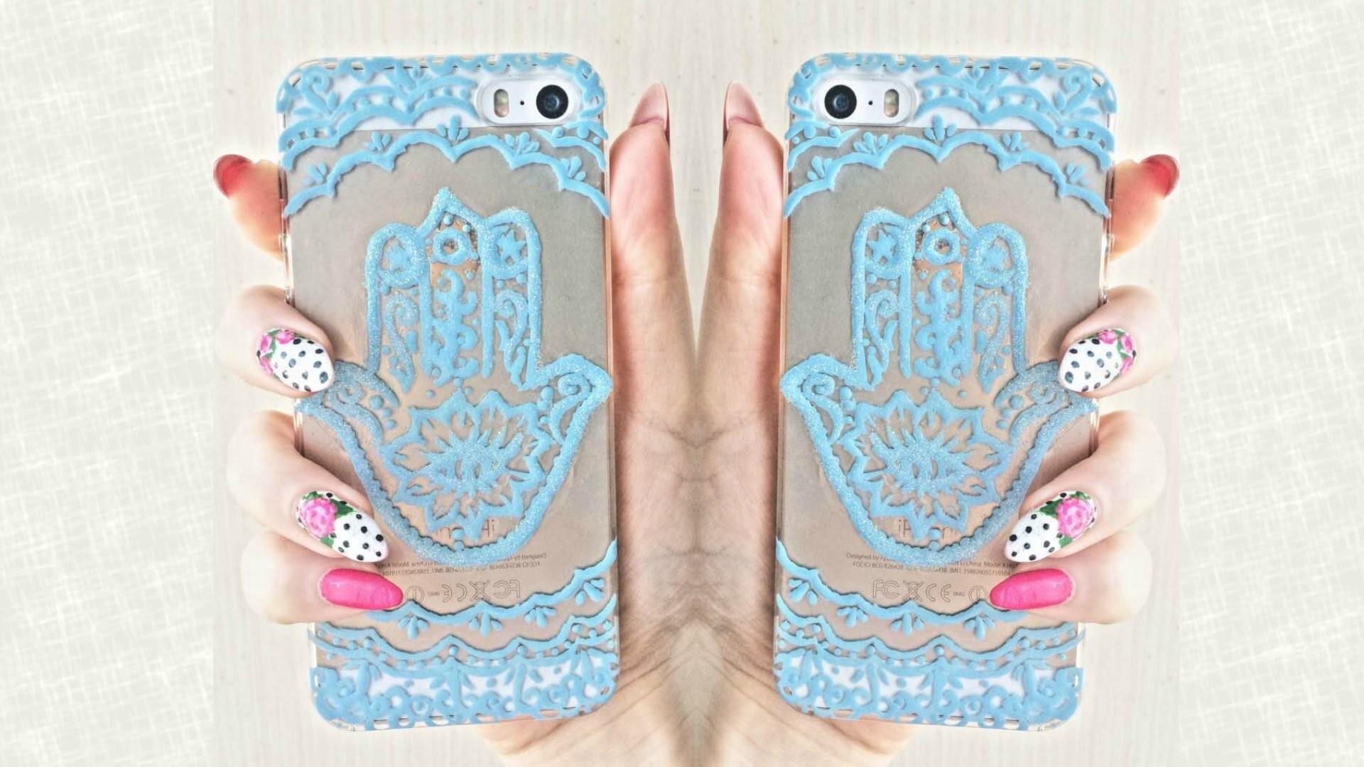Hamsa Hand DIY  iphone case