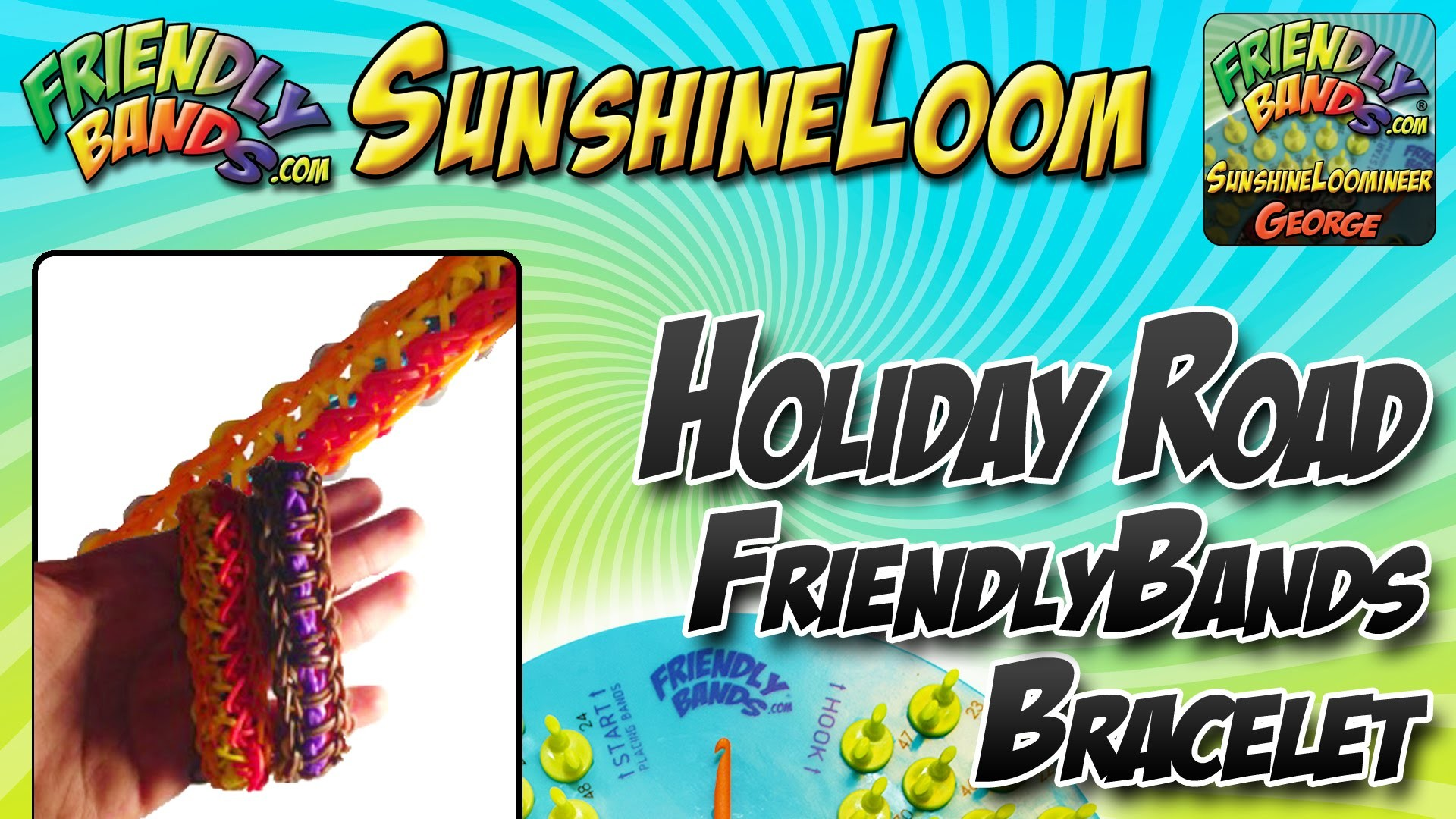 Holiday Road Tutorial | Sunshine Loom