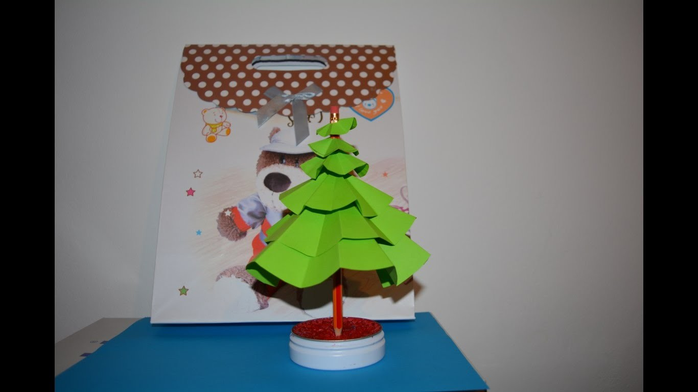 How to make a christmas tree -Decoratiuni de craciun -Brad (tutorial)