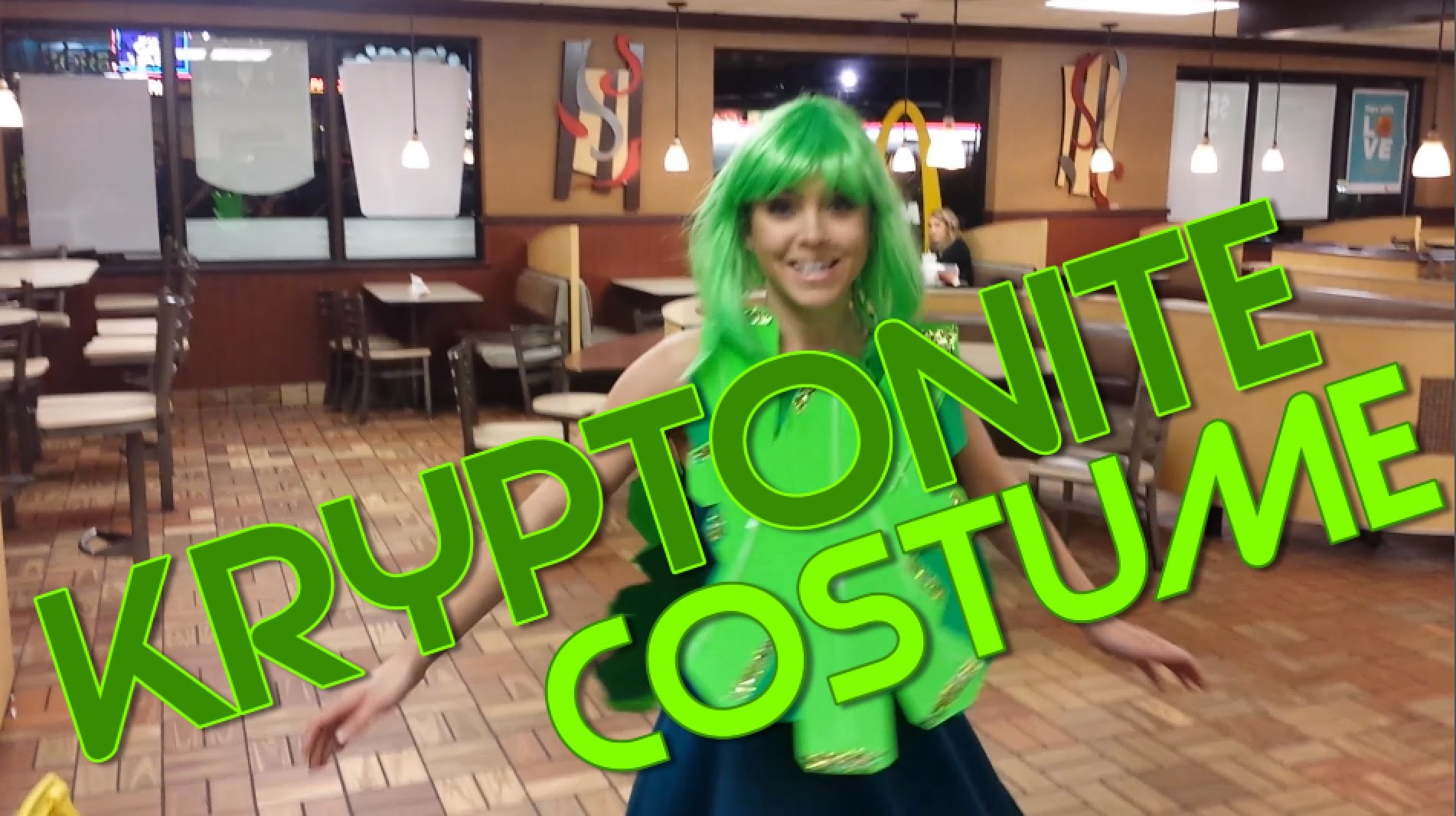 How to make a DIY Kryptonite costume