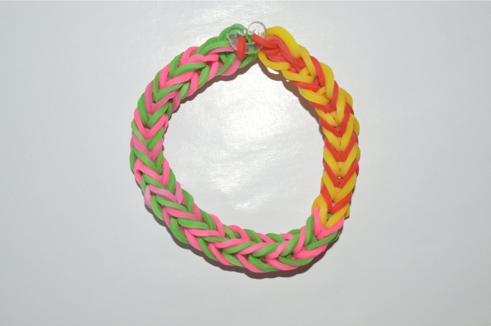 How to Make a Fishtail Bracelet - Step by Step Instruction Tutorial Video - Mazichands.com