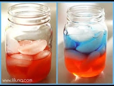 Layered drinks DIY