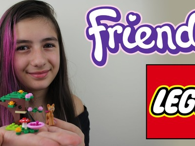 Lego Friends Cervo Tutorial Montando e Brincando (Brinquedos, Animal) Playing Deer (Toys)