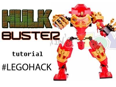 LEGO Hulkbuster - Custom Made 76031 Tutorial - Ninjago Bionicle Mash Up