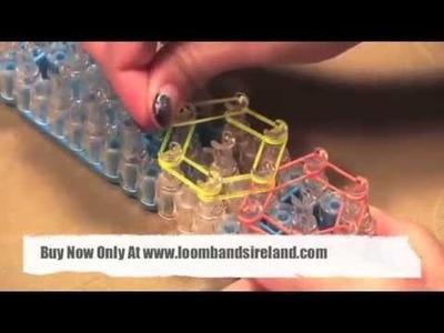 Loom Bands Dublin | Hexagon Bracelet Tutorial | www.loombandsireland.com