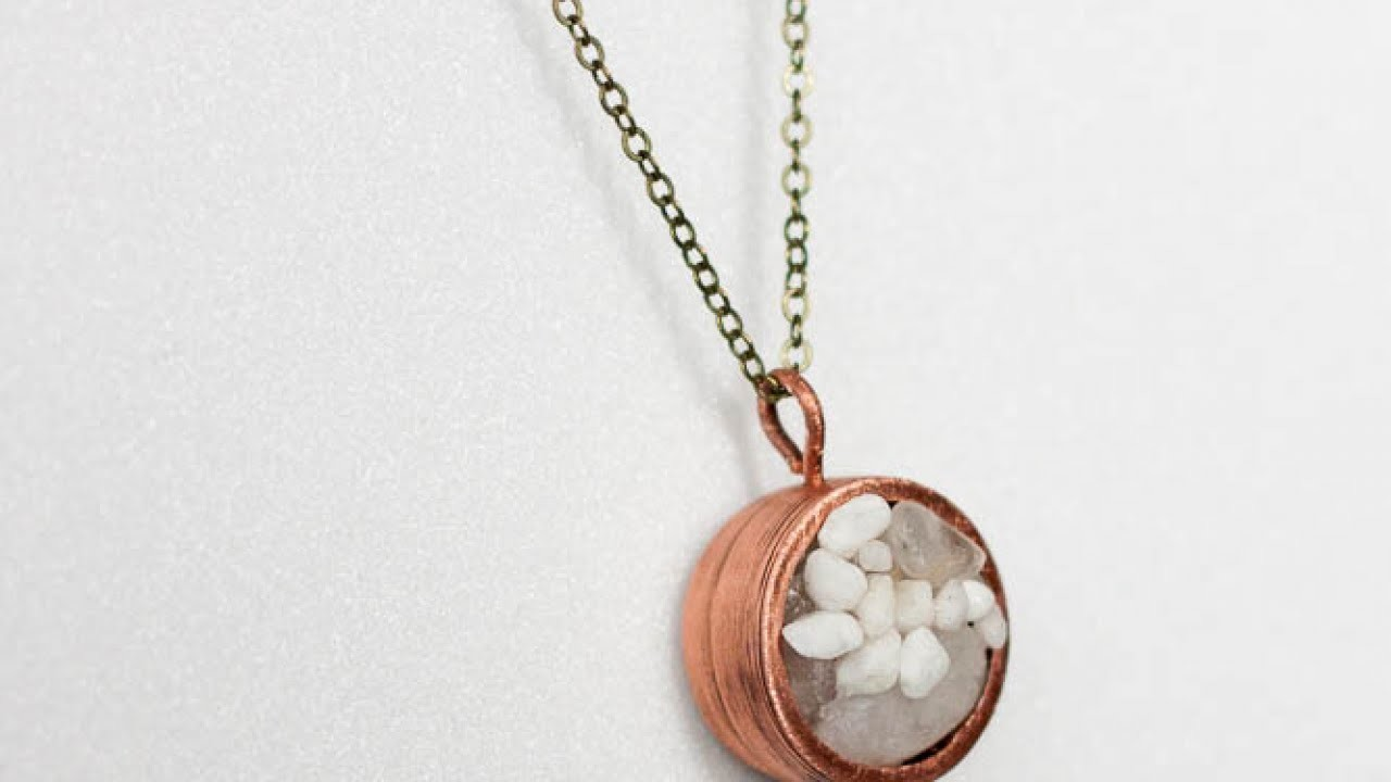 Make a Cool Capsule Pendant - DIY Style - Guidecentral