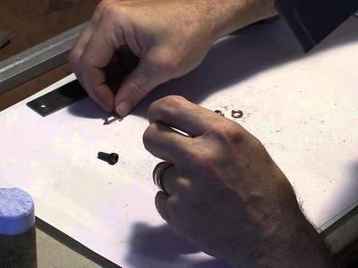 Making a gold baby bracelet-tutorial
