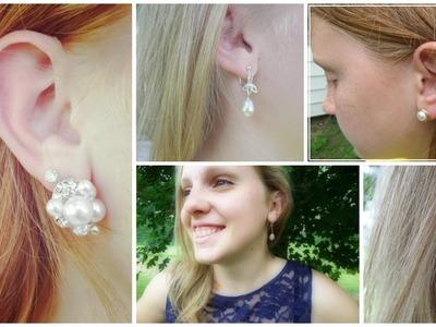 Pearl Earrings Tutorial Series Preview!