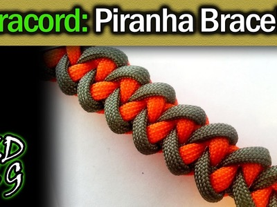 Piranha Paracord Bracelet Tutorial & Series Intro