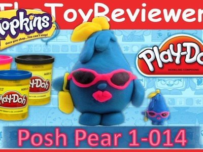 Shopkins Play-Doh Creation Posh Pear Tutorial by TheToyReviewer