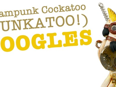 Steampunk Goggle Tutorial (modeled by Captain Sheila!)