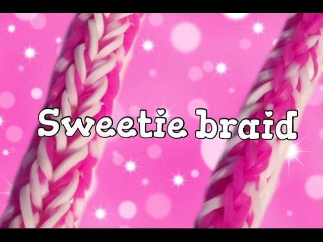 Sweetie braid bracelet|Tutorial