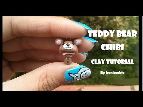 Teddy Bear Chibi Clay Tutorial  ❤