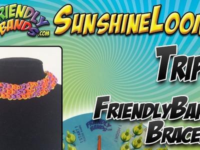 TRIPLE FriendlyBands Necklace.Headband Tutorial