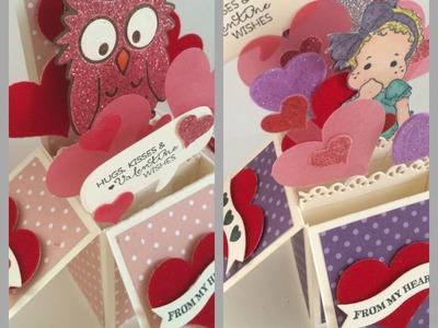 Tutorial ~ 1 Card Stock ~ 2 Box Cards