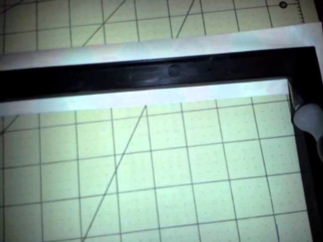 Tutorial Duct tape Frame dry Erase Board