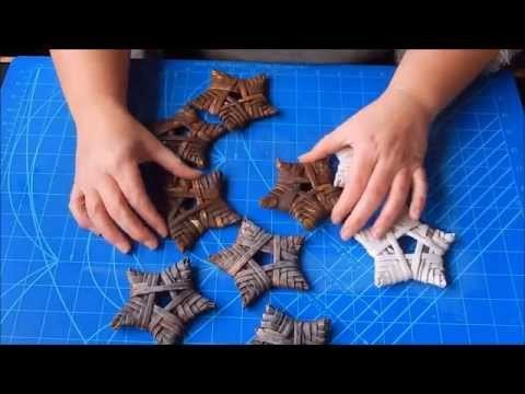 Tutorial : Rustic stars for christmas