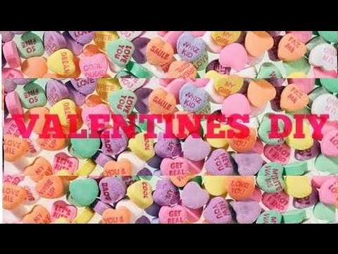VALENTINES DIY ROOM DECOR. GIFT IDEAS
