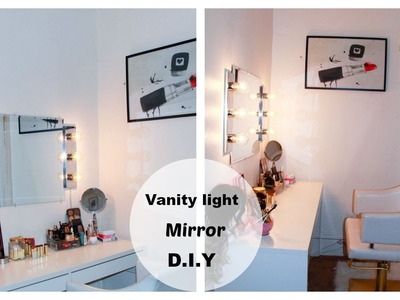 VANITY LIGHT MIRROR D.I.Y