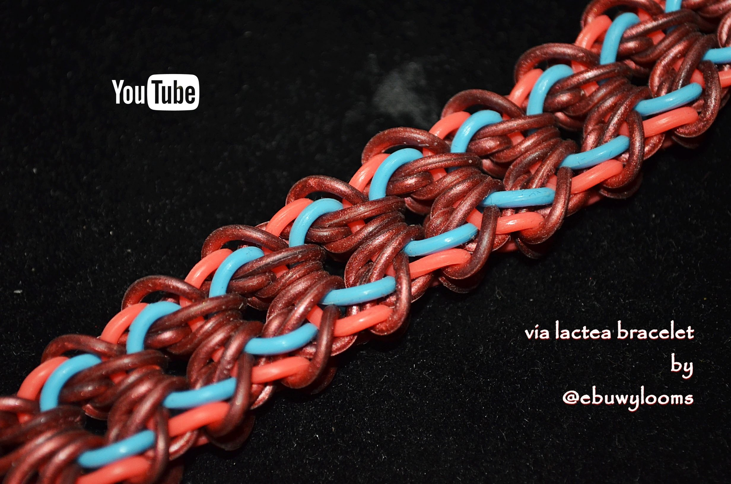 VIA LACTEA BRACELET HOOK ONLY DESIGN TUTORIAL