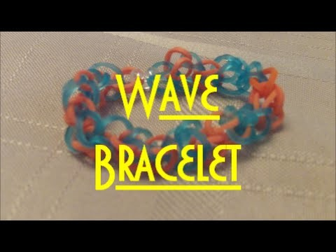 Wave Bracelet Tutorial