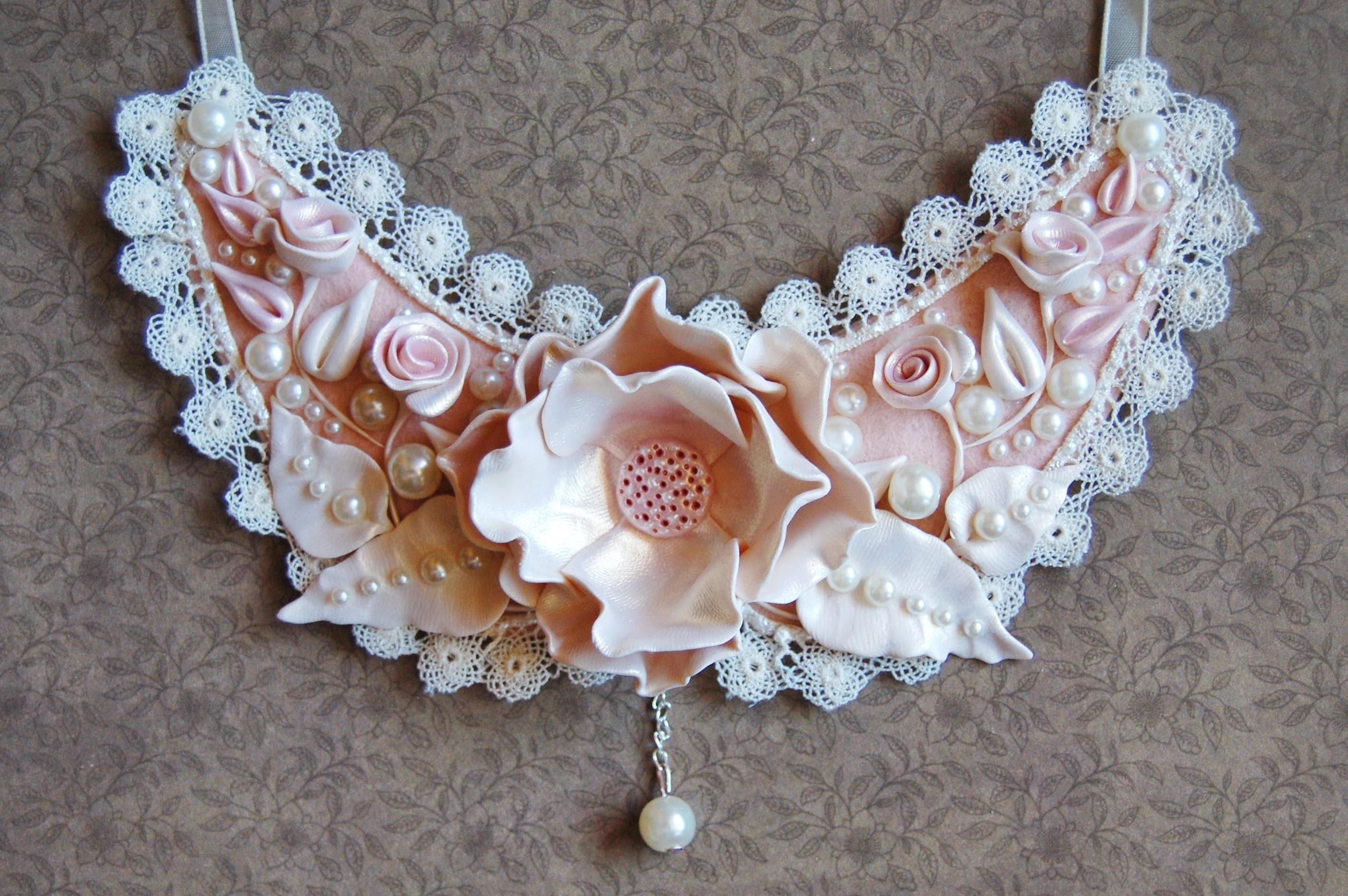 66. Unique Bijoux by Kara - lovely necklace tutorial (Fimo pasta)