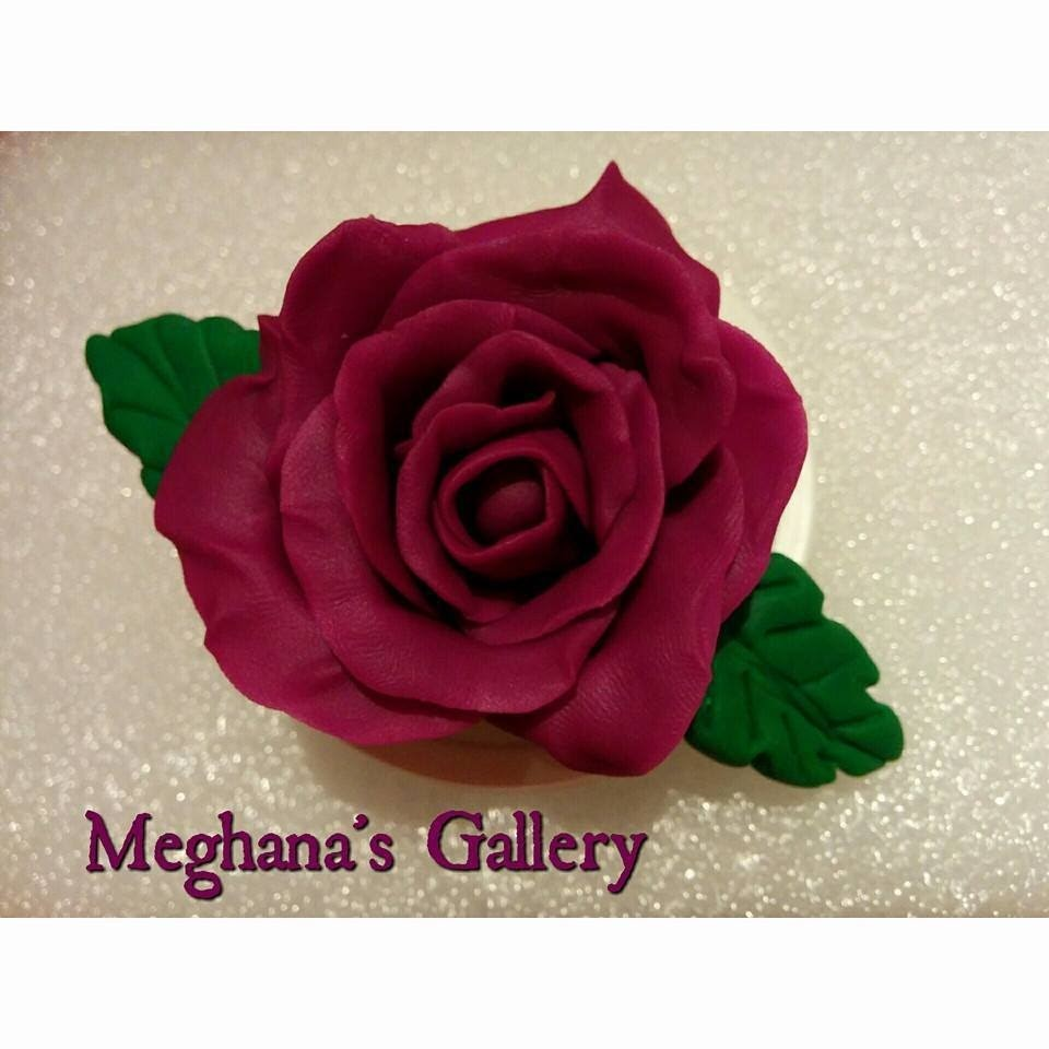 A Beautiful.Simple Clay Rose Tutorial