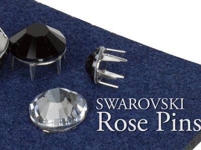 Artbeads Mini Tutorial - Swarovski Rose Pins with Nick Regine