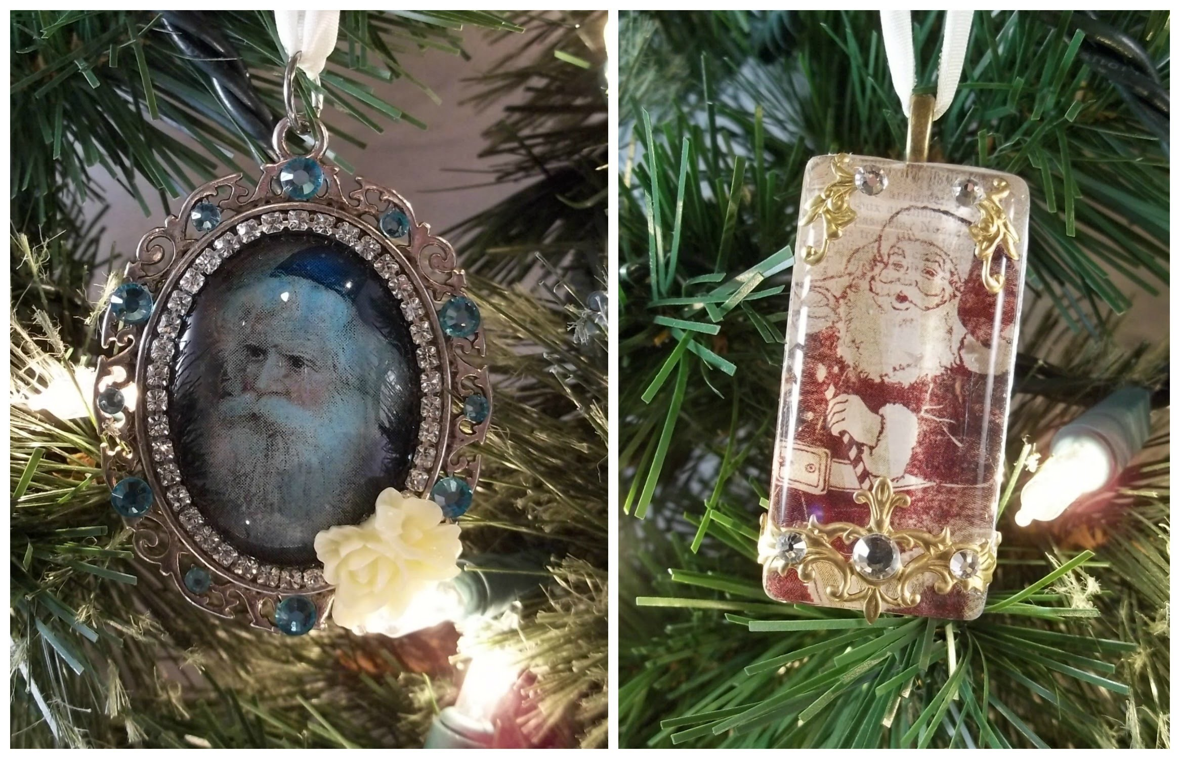 Christmas Ornament Tutorial Using ICE Resin