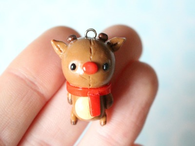 Christmas Reindeer Tutorial- polymerclay