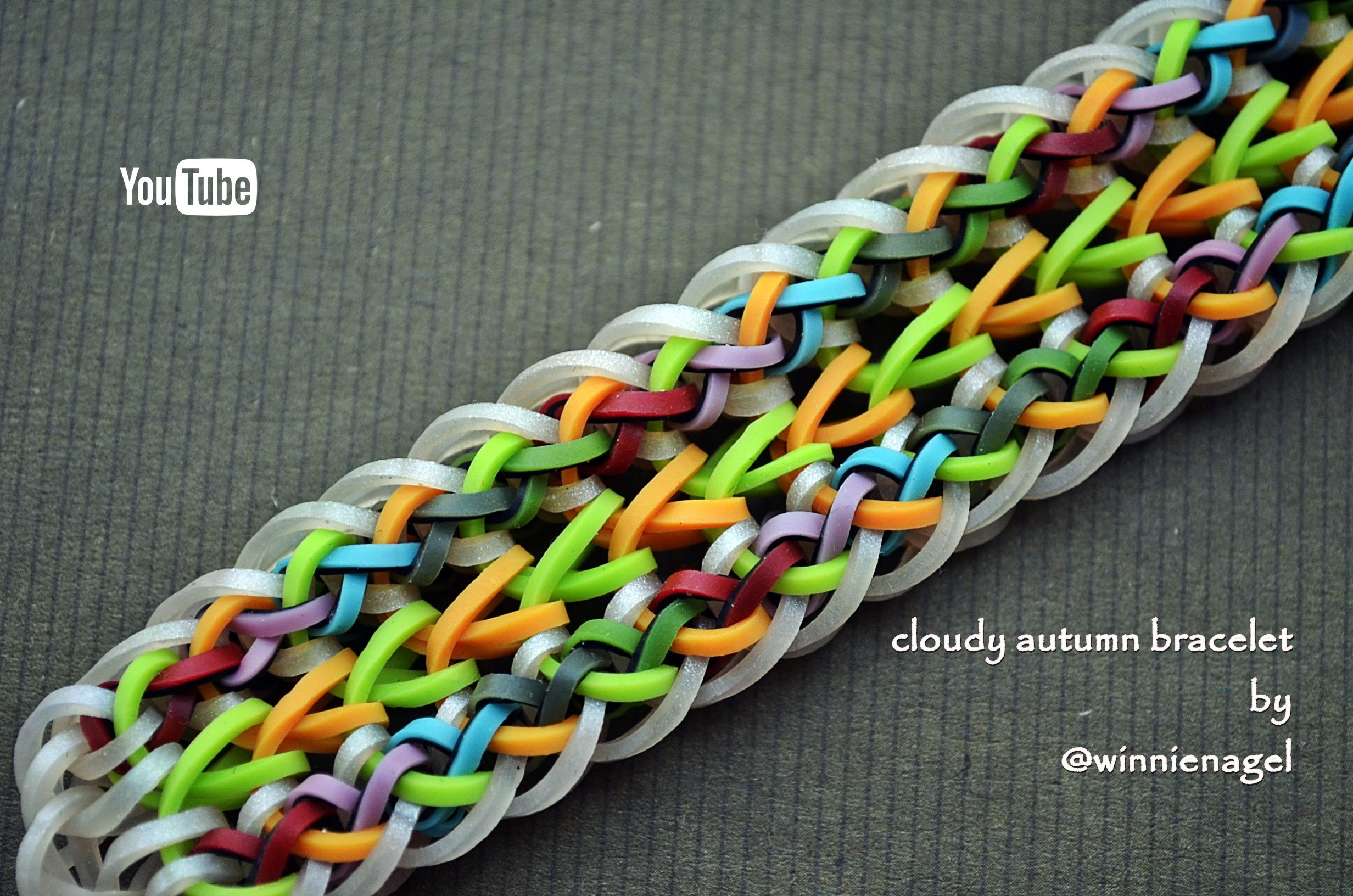 CLOUDY AUTUMN BRACELET HOOK ONLY DESIGN TUTORIAL