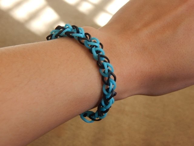 Crazy Loom- Single Pattern Bracelet Tutorial