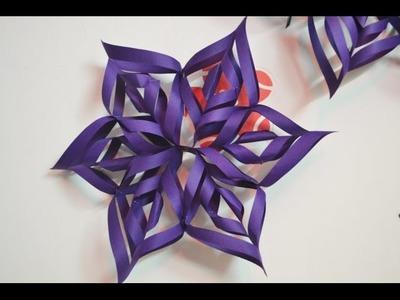 Creative Handmade 3  D PAPER FLOWER Tutorial